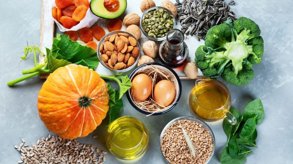ビタミンEが豊富な食材